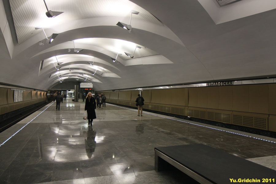 Line 10. Station 'Shipilovskaya', ©Photo Yu.Gridchin, 2011