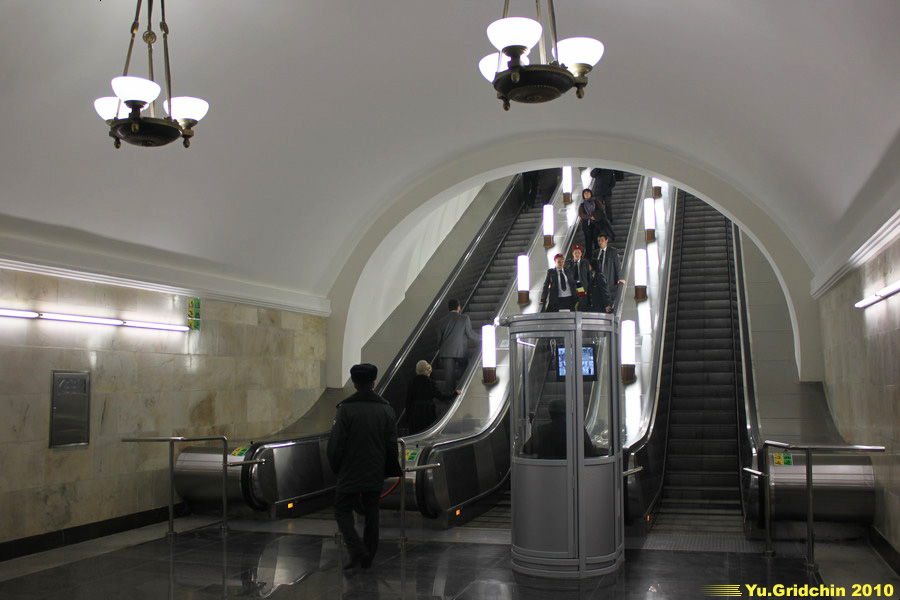 Line 5. Station 'Oktyabrskaya'. ©Photo Yuri Gridchin, 2010