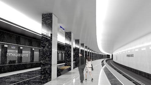 Line 2. Pyatnitskoe shosse