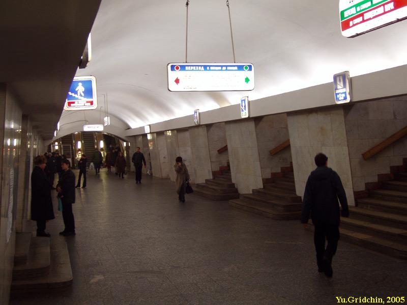 A.Strelkov, L.Malashonok.  До 1983 года называлась Новокузнецкая; обслуживает поезда Калининской линии с 25...