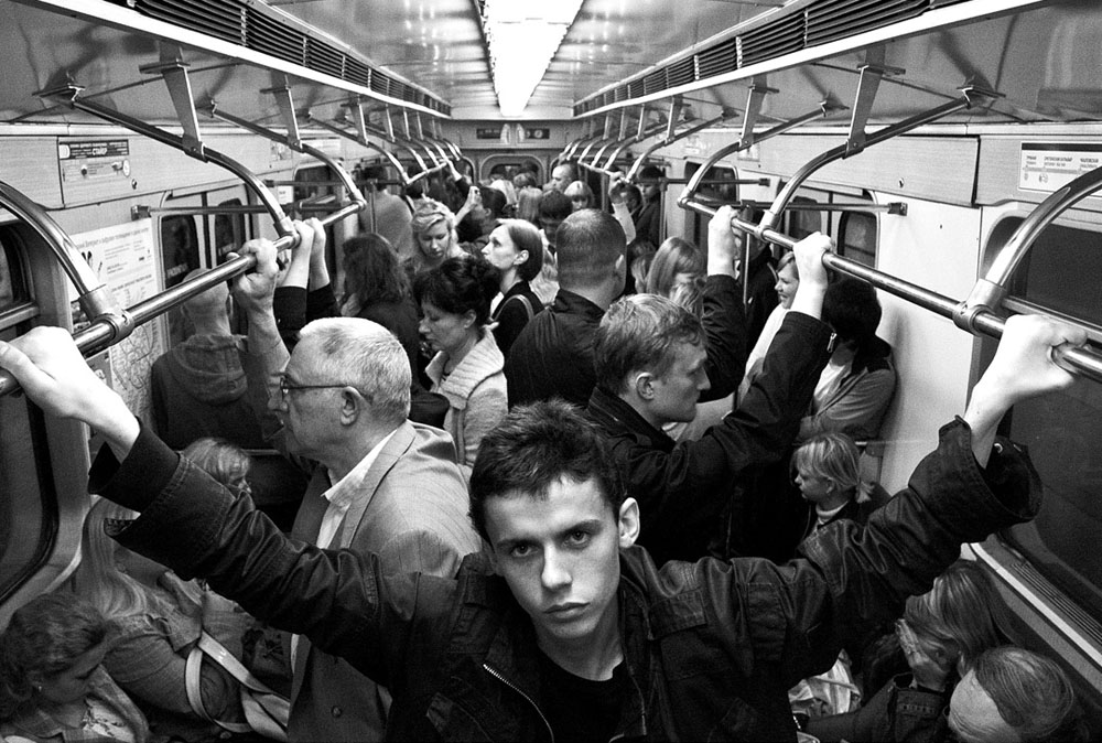 'Metro passangers' © Alex Belkin