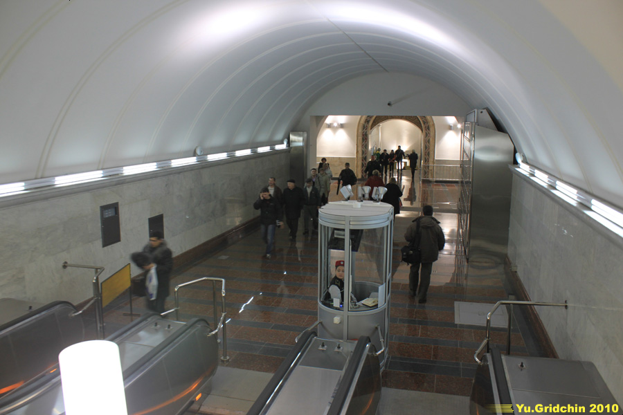 Line 5. Station 'Belorusskaya'. ©Photo Yuri Gridchin, 2010