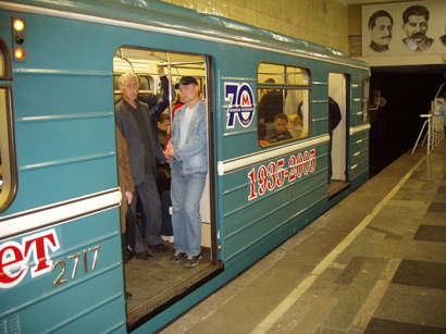 15 may 2005 - Moscow metro - 70th anniversary
