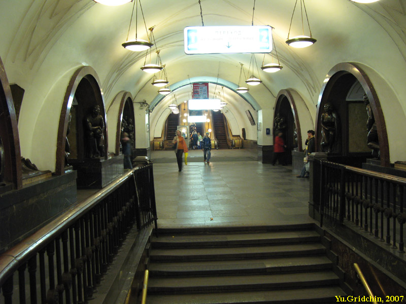 Central station hall