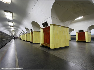 Line 6. Station 'Rizhskaya'. ©Photo A.Popov, 2006