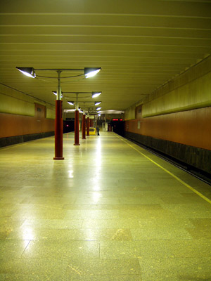 Line 10. Station 'Volzhskaya'. ©Photo Yu.Gridchin, 2006