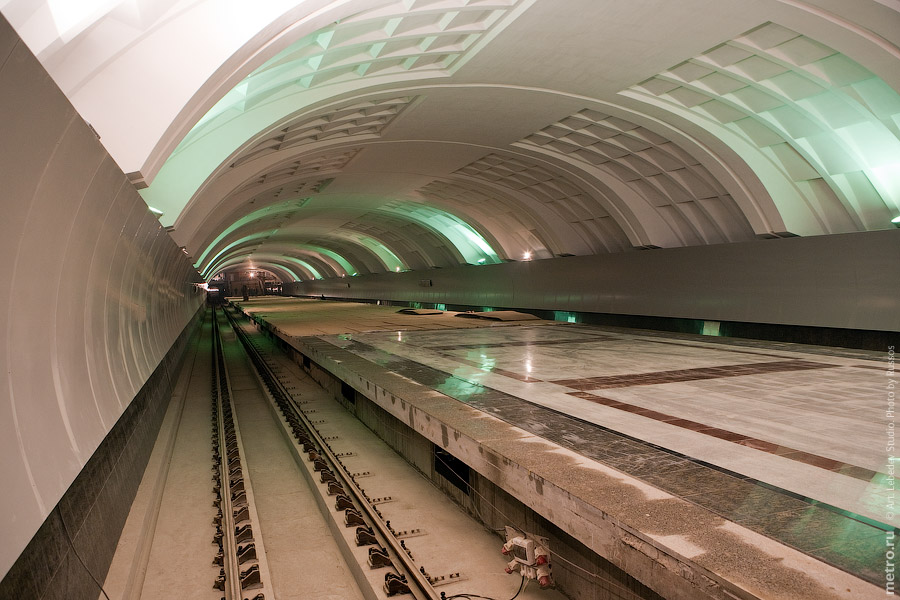 Line 3. Station 'Mitino'. ©Photo A.Popov, Metro.Ru, 2009