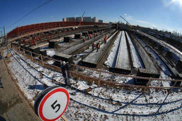 Depot 'Solntsevo' © Photo S.Mikheev, 2015