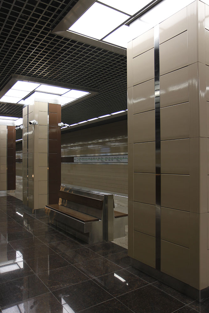 Line 2, Station 'Khovrino' © Yu.Gridchin, 2017