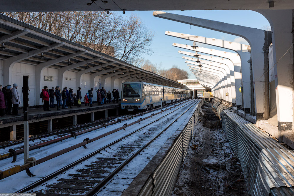 Line 4. Station 'Fili' © A.Popov (Russos), 2017