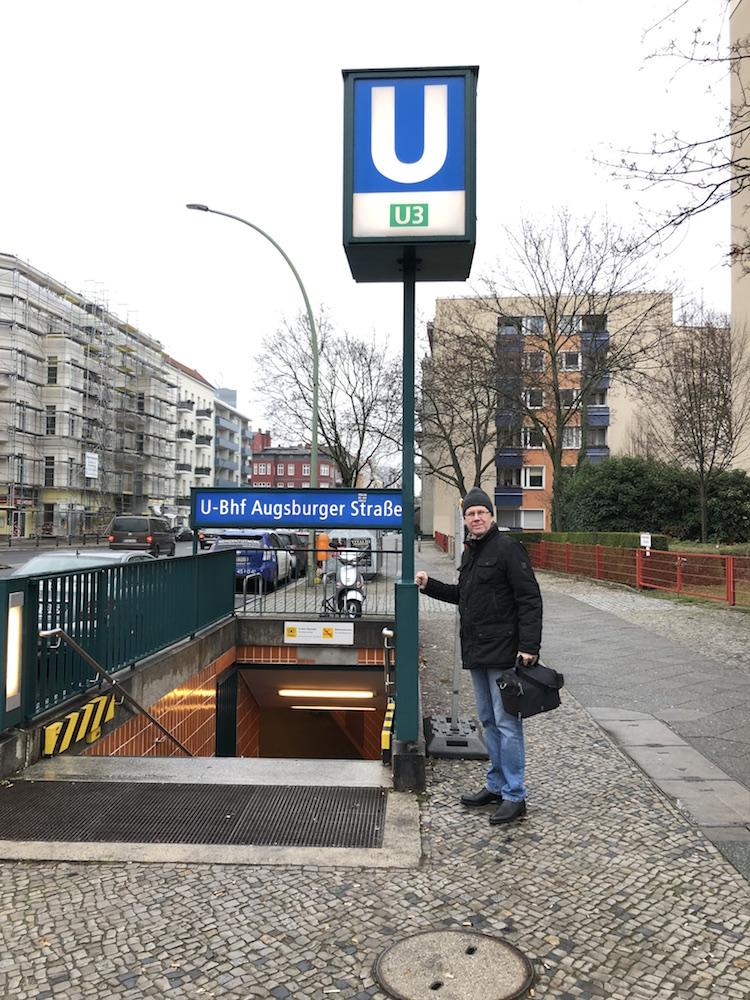 Berlin. Line U3. Station 'Augsburger Strasse' ©Photo O.Gridchina, 2018
