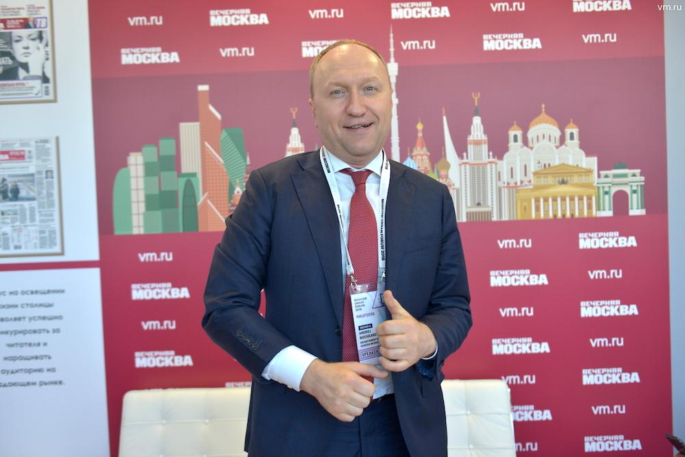 Andrey Bochkaryov © Фото Наталья Феоктистова, 'Вечерняя Москва', 2018