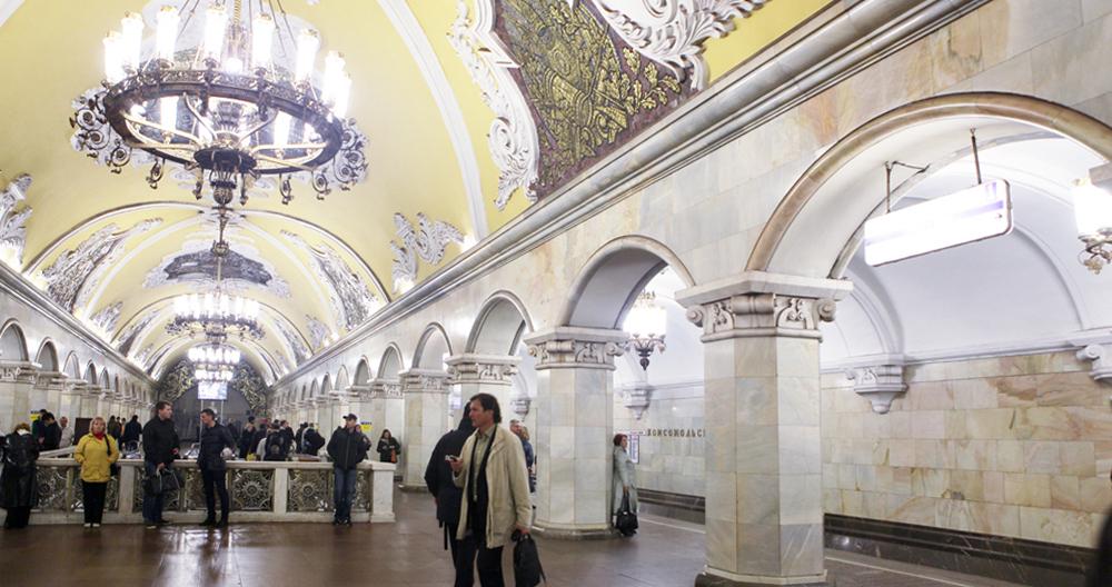 Line 5. Station 'Komsomolskaya' © Mos.ru, 2018