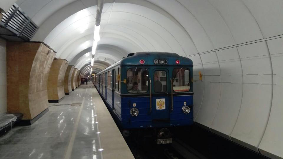 Line 10. First train © Mosmetro.ru, 2018