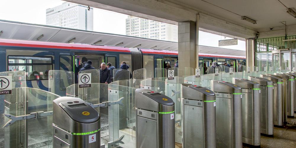 Line 7. Station 'Vykhino' © Mos.ru, 2018