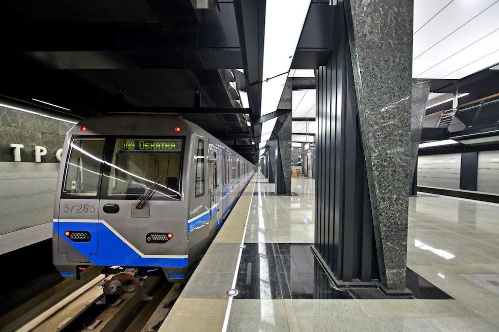 Line 11. Station 'Petrovskiy park' © Stroi.mos.ru, 2018