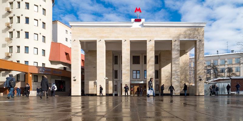 Line 1. Station 'Sportivnaya' © Denis Grishkin, Mos.ru, 2018