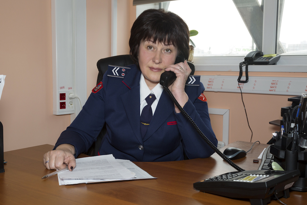 Svetlana Sergeeva, head of station 'Vykhino' © Mos.ru, 2018