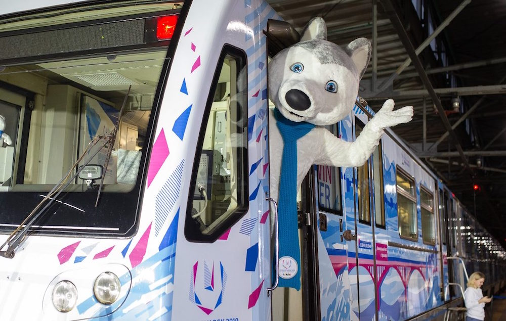 Train 'Universiade 2019' ©Photo Mos.ru, 2018