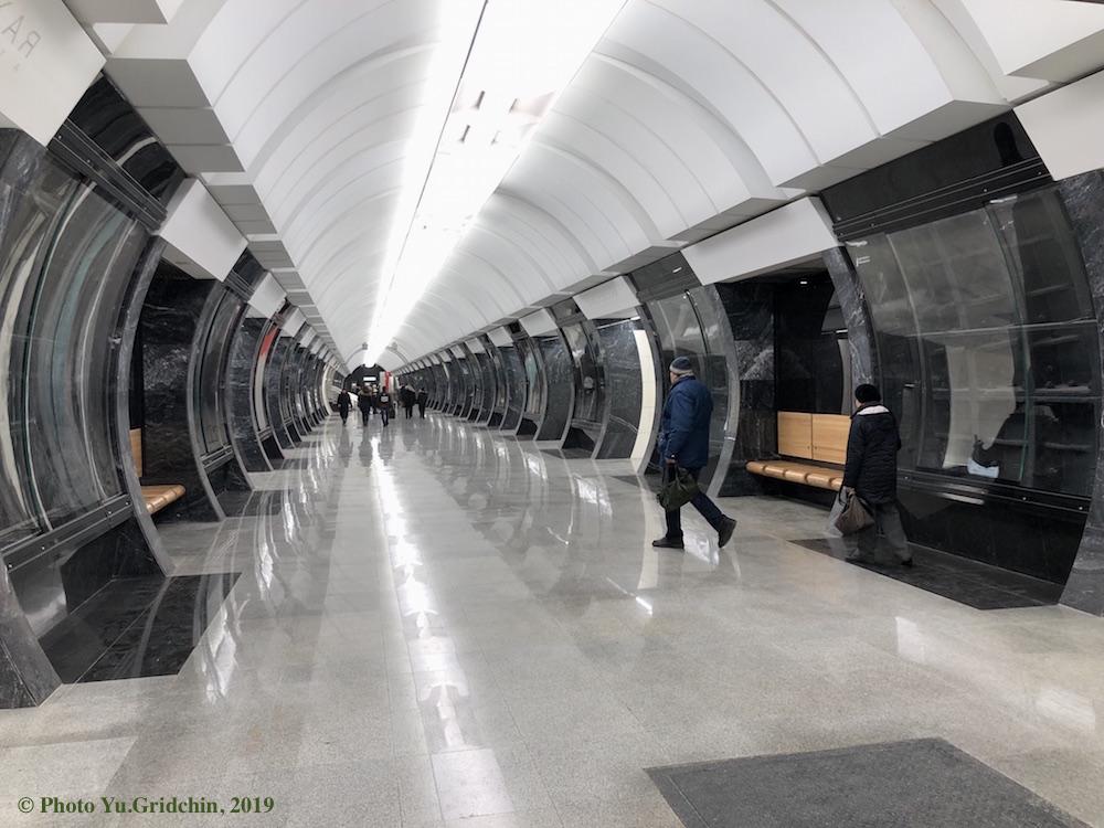 Line 11. Station 'Savyolovskaya' ©Photo Yuriy Gridchin, 2019
