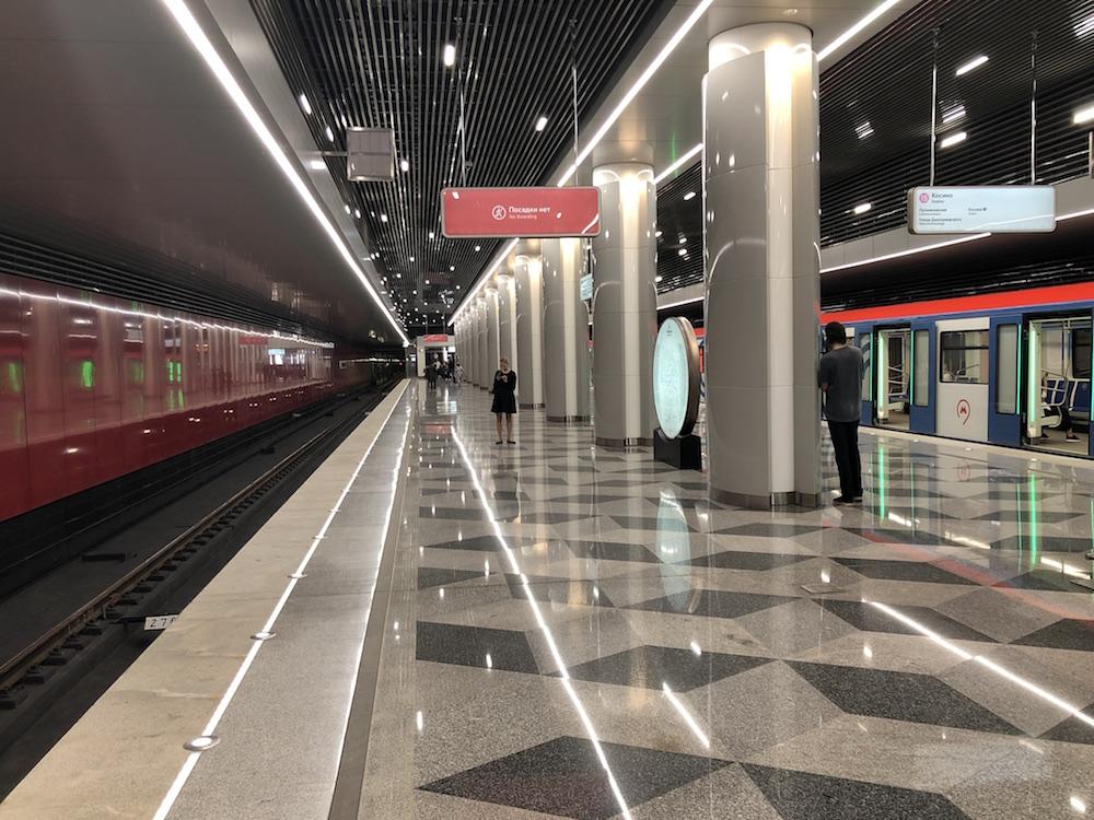 Line 15. Station 'Nekrasovka' ©Photo Yu.Gridchin, 2019