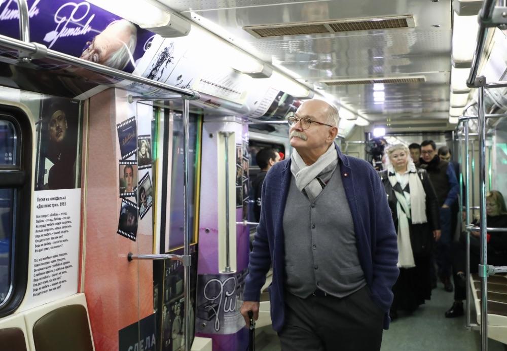 Train 'Sergey Mikhalkov' ©Антон Новодережкин/ТАСС, 2019