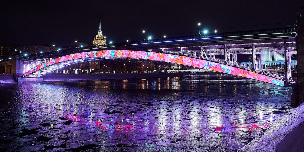 Line 4, Smolenskiy bridge ©Photo Mos.ru, 2019