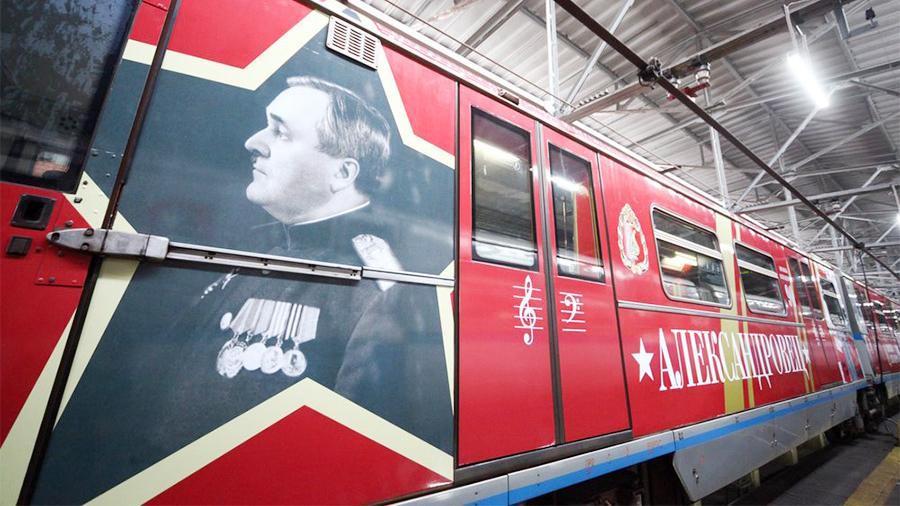 Train 'Alexandrovets' ©Photo АГН Москва, Сергей Ведяшкин, 2019