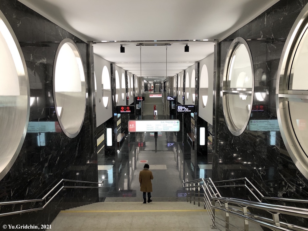 Line 15. Station 'Elektrozavodsksya' Photo © Yu.Gridchin, 2021
