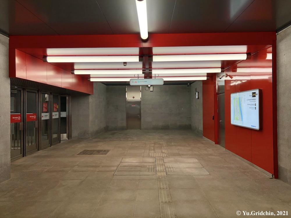 Line 11. Station 'Mnyovniki' Photo ©Yu.Gridchin, 2021
