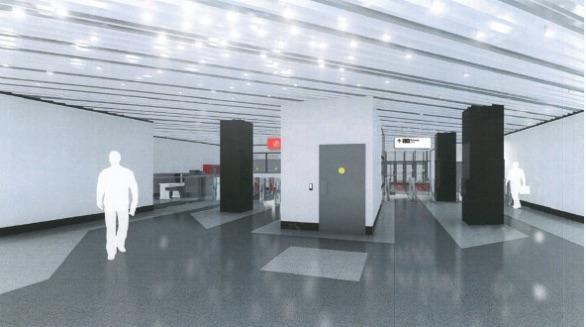 Line 11. Station 'Aminevskoe shosse' (project), 2021