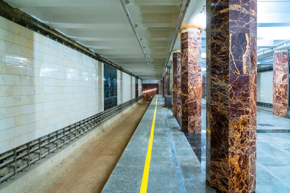 Line 11. Station 'Kakhovskaya' © Mos.ru, 2021